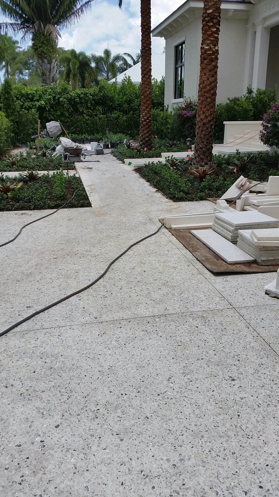 Tabby Concrete Driveway | Outside Productions International