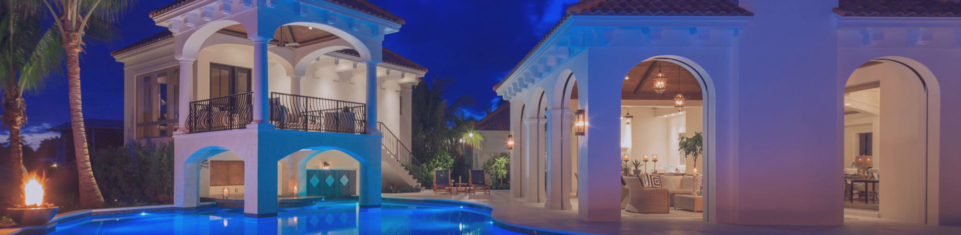 Pool with Lights | Outside Productions International