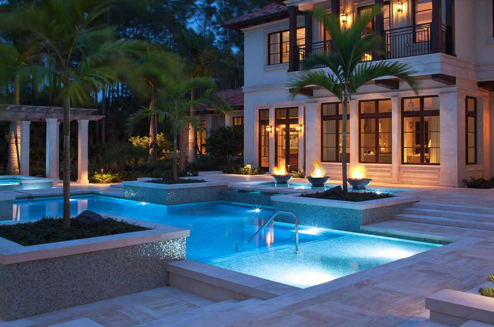 Pool at Night | Outside Productions International