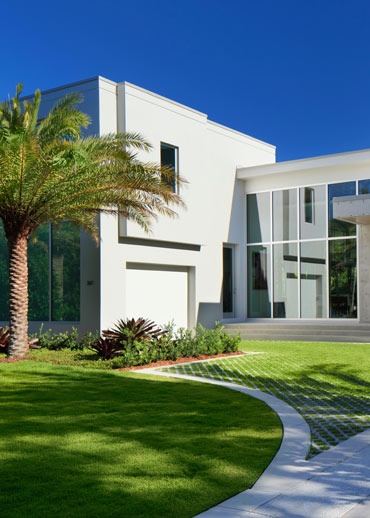 Florida Landscape Design for a Modern Naples Home | Outside Productions International